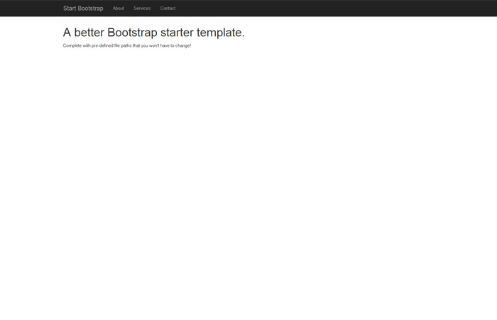 Sb Admin A Free Bootstrap Admin Template